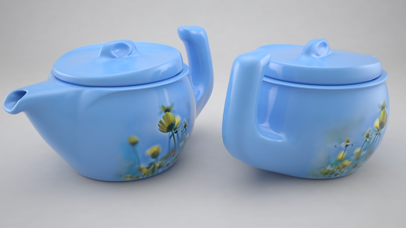 3dsmax teapot tea