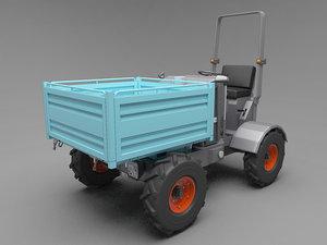 mini vehicle 3d 3ds