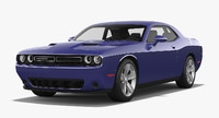 dodge challenger sxt 2015 3d 3ds