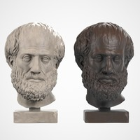 Aristoteles Head Sculpture