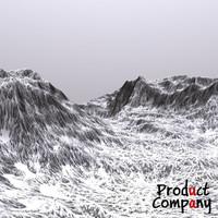 cliffs terrain modeled 3d obj