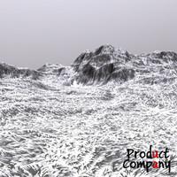 cliffs terrain modeled 3d model