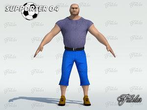 3d supporter 04 model