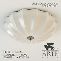 arte lamp cocoon a6180pl-3wh 3d model