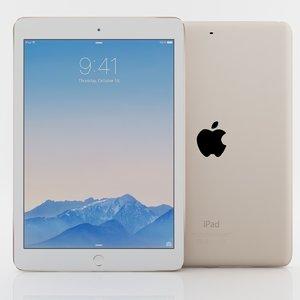 apple ipad air 2 3ds