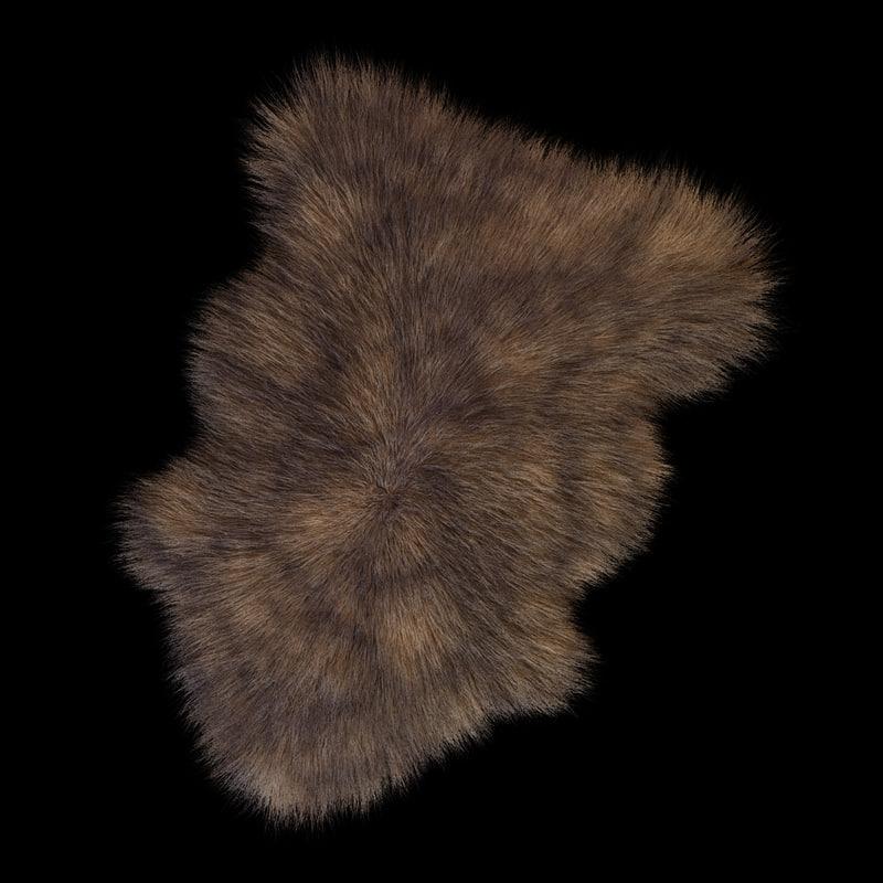 3d model skin sheepskin