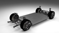 Tesla Model S Chassis