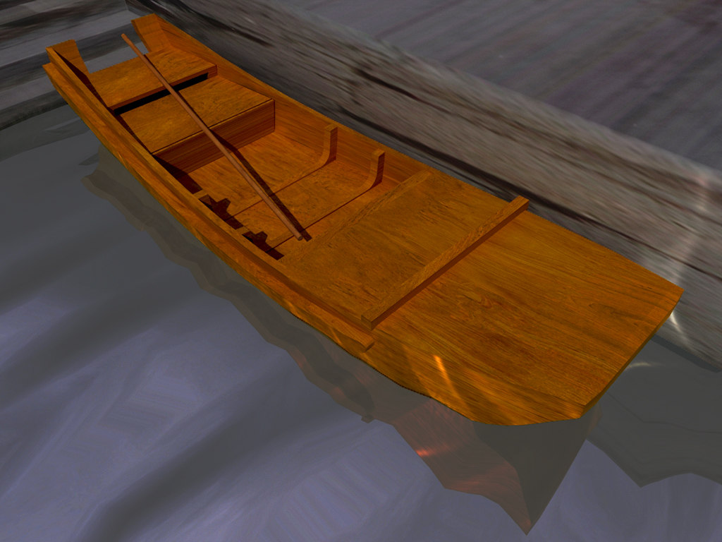 free max mode ancient chinese boat