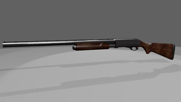 blend remington shotgun