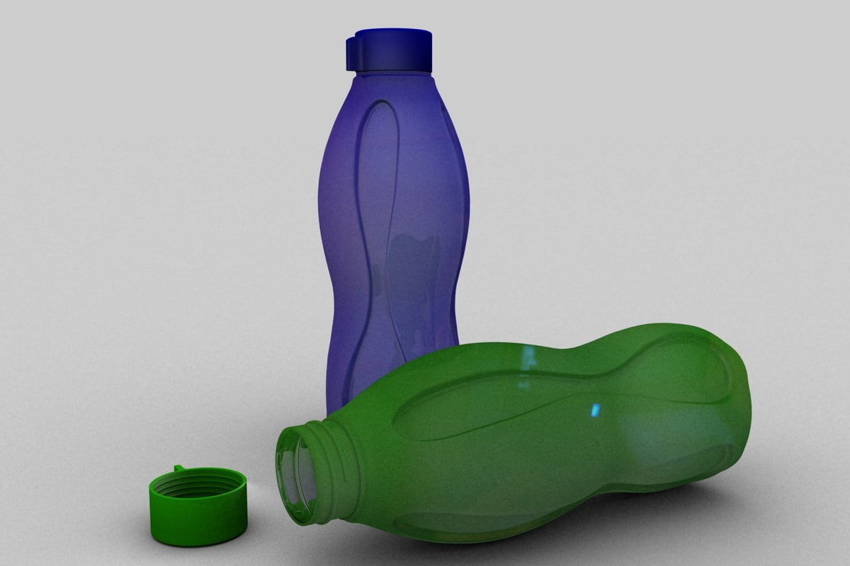 bottle ecco 3d model