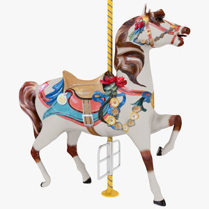 3dsmax carousel