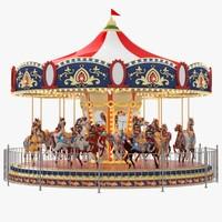 carousel carrousel obj