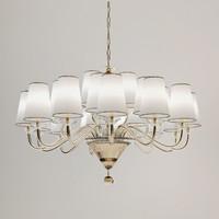 3d chandelier fendi model
