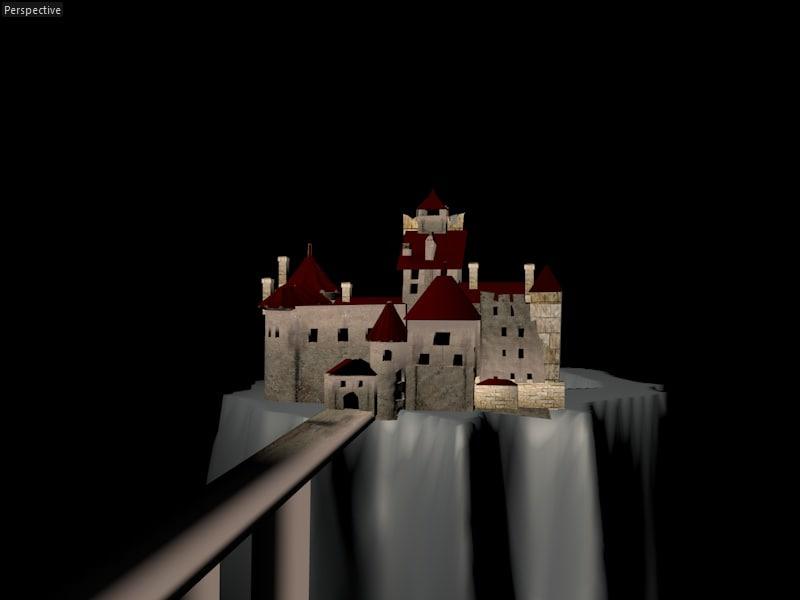 bran castle 3ds