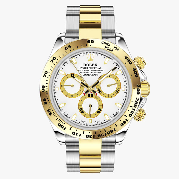 rolex cosmograph daytona watches 3d model
