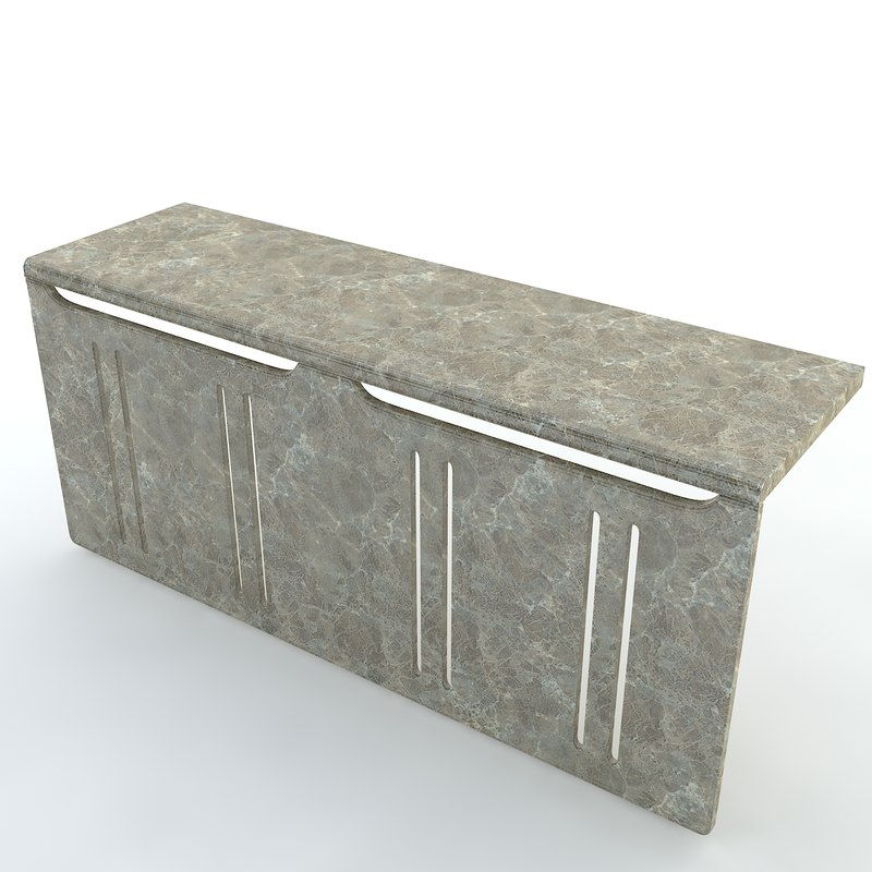 free decorative sill heat cover 3d model
