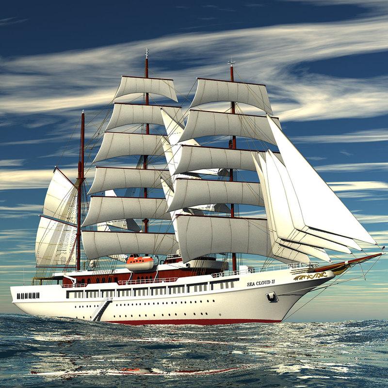 sea 3d model
