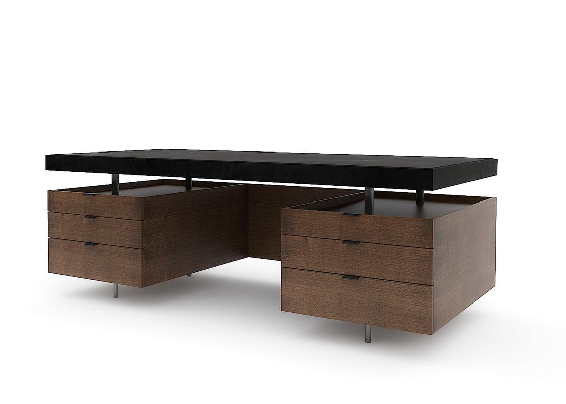 3dsmax baxter bourgeois desk