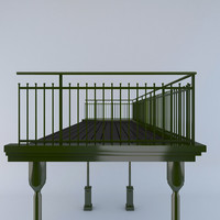 3d balustrade berliner style