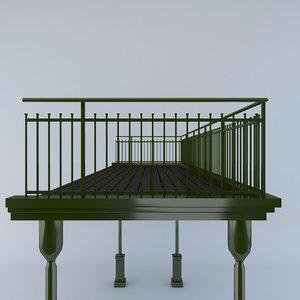 3d balustrade berliner style