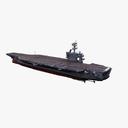 USS Theodore Roosevelt CVN-71 3D models
