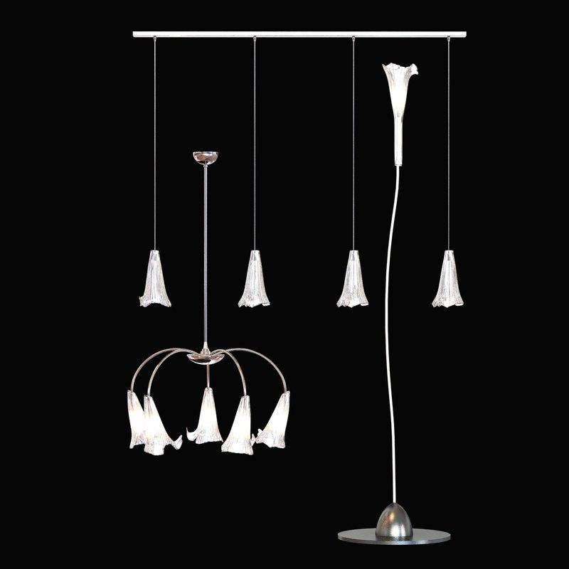3d lamp light etoile model