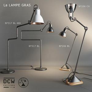 maya table lamps la gras
