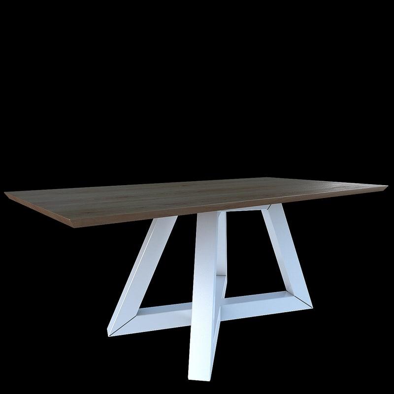 table formabiblo 3d model
