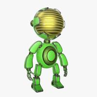3d robot mario model