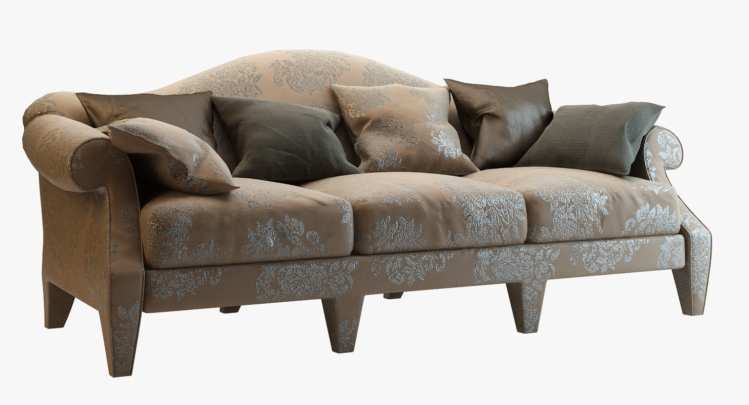 kent sofa donghia 3d 3ds