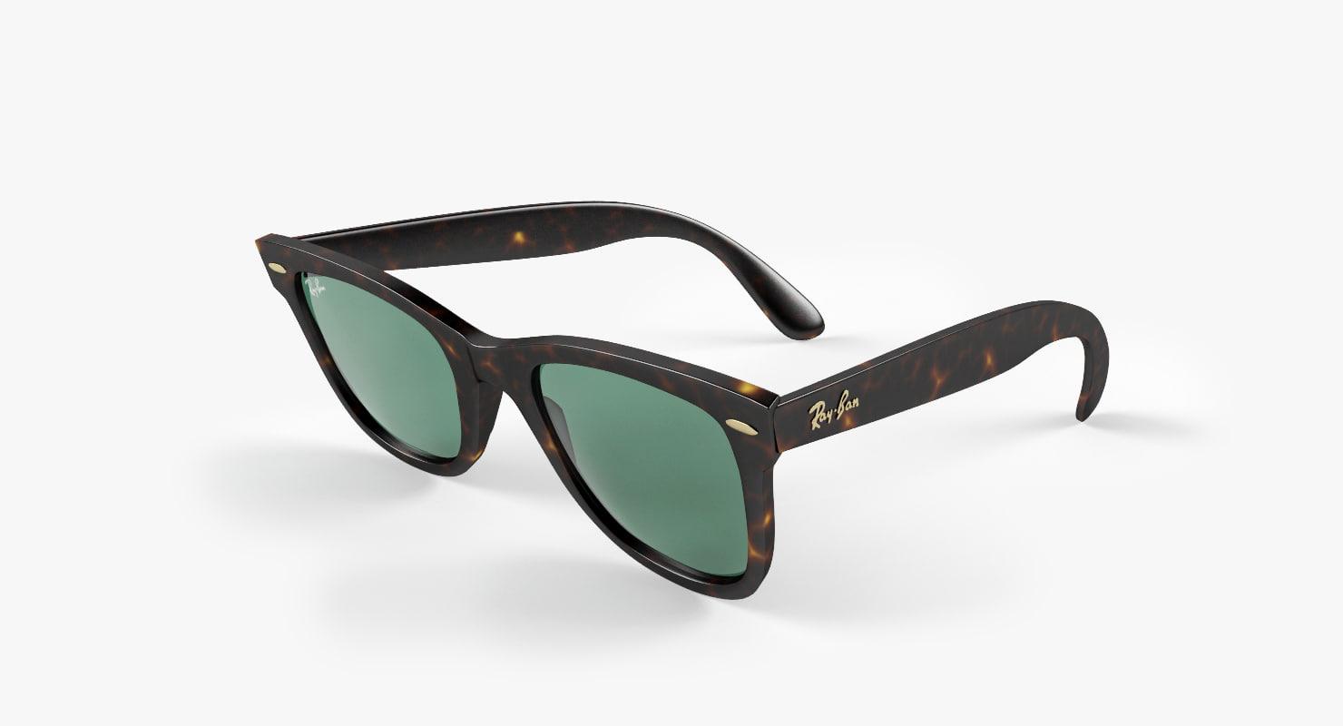 sunglasses 2 3d max