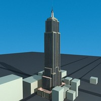 empire state building c4d