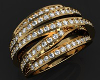 jewellery ring 3d model