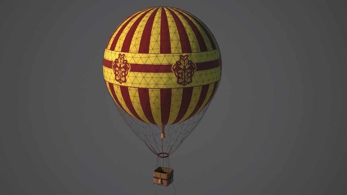 max hot air balloon