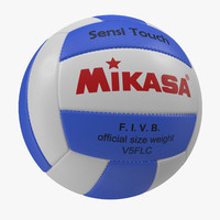 Volleyball Ball Mikasa 3D Model