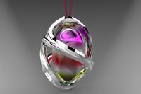 3d jewellery pendant