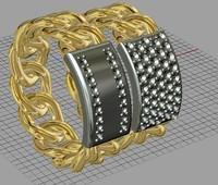 3d rings weddings