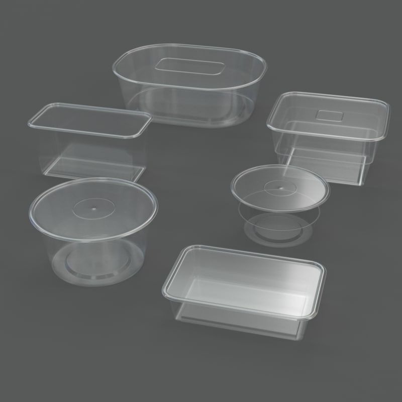 3ds max plastic containers