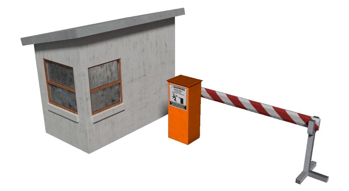 3ds gate guard