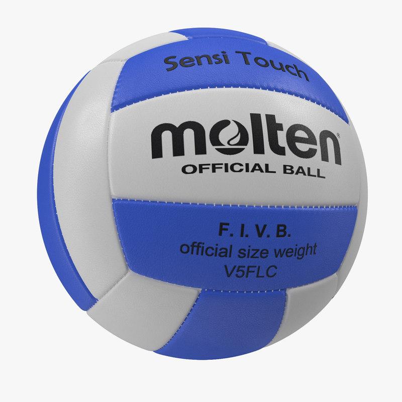 3ds volleyball ball 4 molten