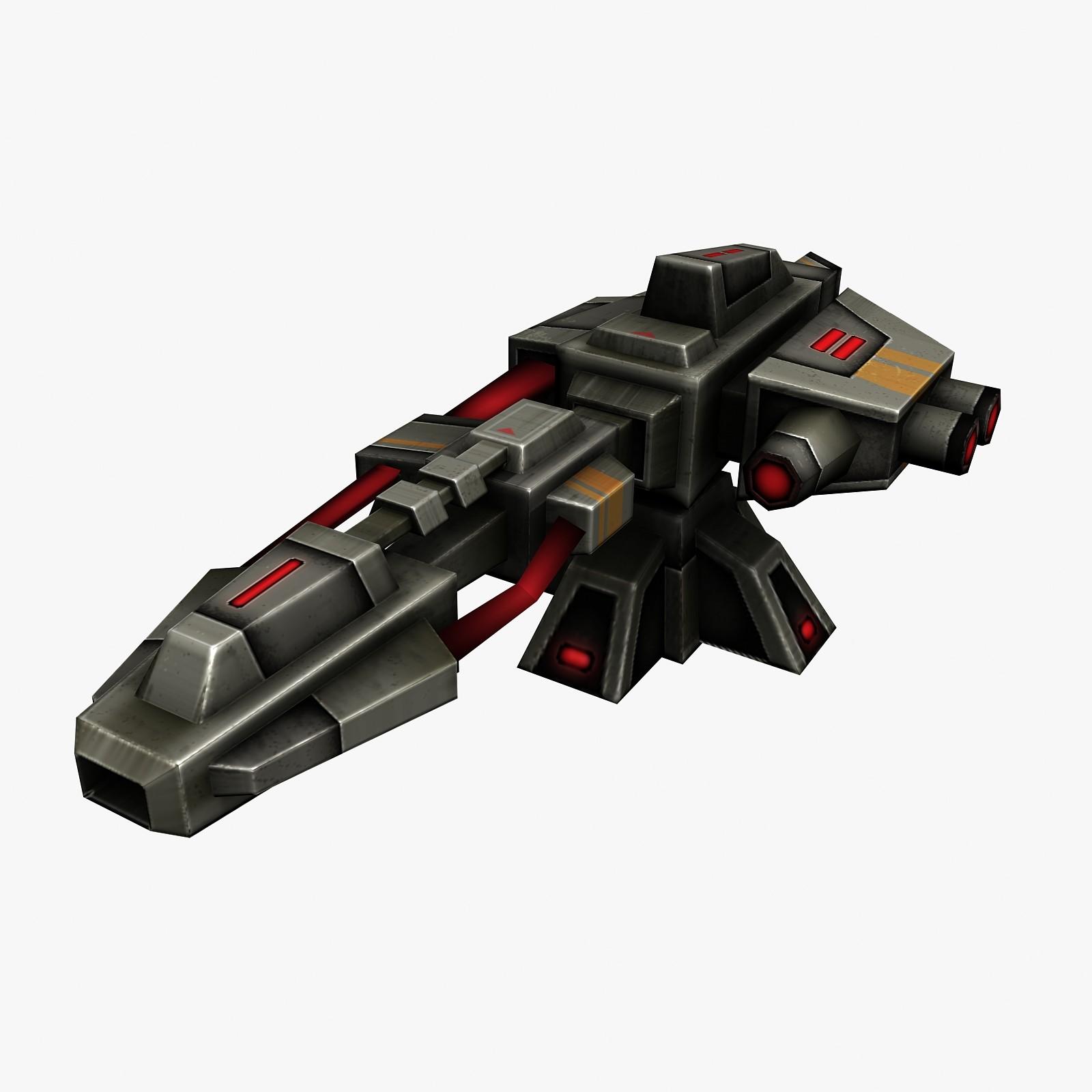 3d energy weapon model