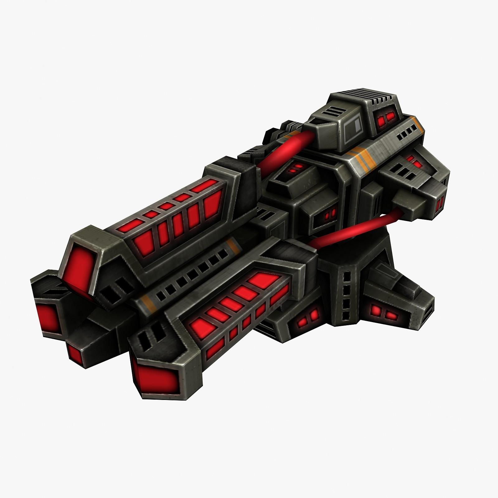 3ds max weapon gun