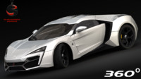 W Motors Lykan Hypersport 2015