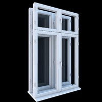 box type window 3d 3ds