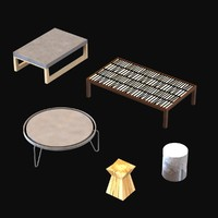 table wood 3d 3ds