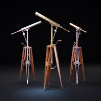 19TH-C.-PARISIAN-BRASS-TELESCOPE