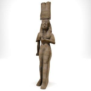 nefertari statue max