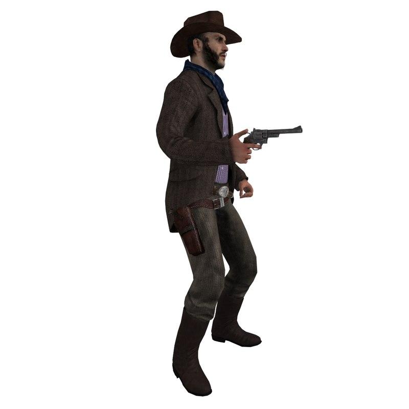 max rigged cowboy hat