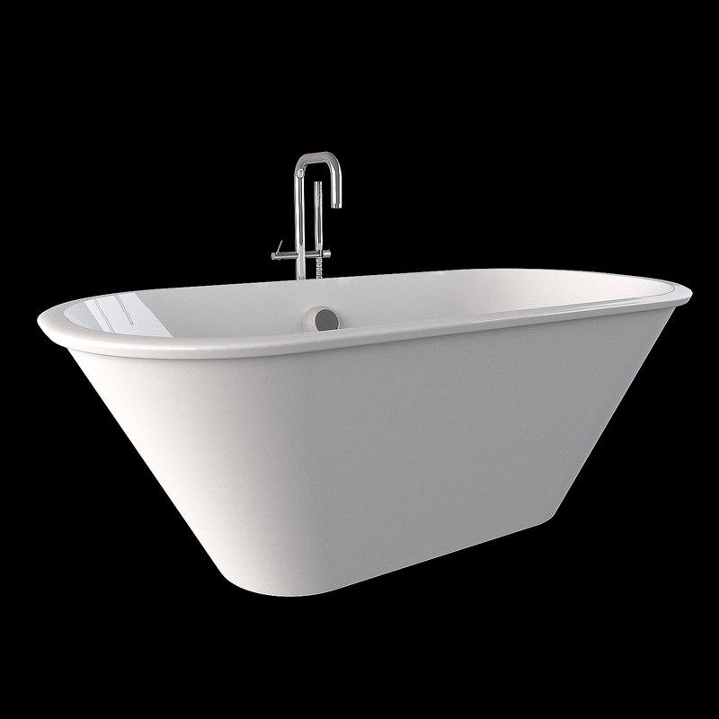 bath tub 3d model