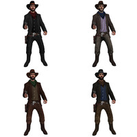 Cowboy MC Rigged Pack